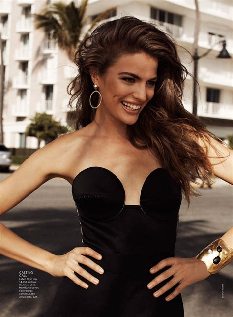 """Cameron Russell Has """"Miami Heat"""" for Vogue Australia"""