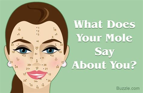 26 Moles on your Face and their Hidden Meanings | Life in
