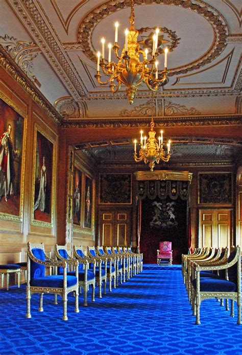 The Garter Throne Room | Each year in June a procession