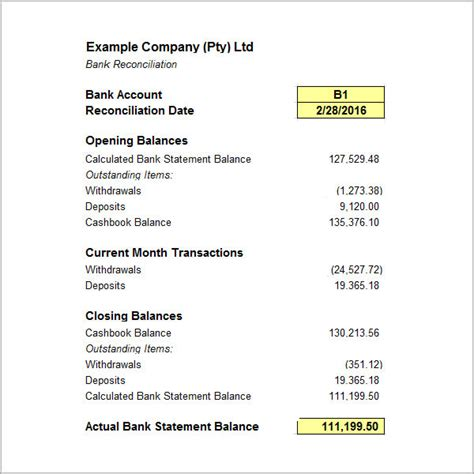 FREE 18+ Sample Bank Statement Templates in PDF | MS Word