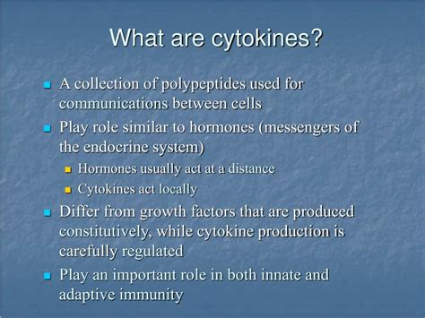 PPT - Lecture 17 Cytokines PowerPoint Presentation, free