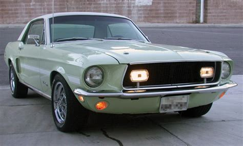 1968 FORD MUSTANG CALIFORNIA SPECIAL COUPE - 15914