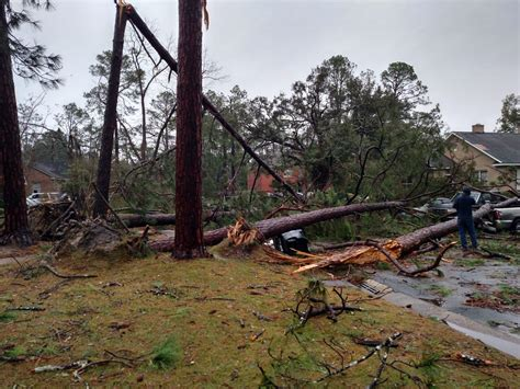 Storm damage in Albany: Jan