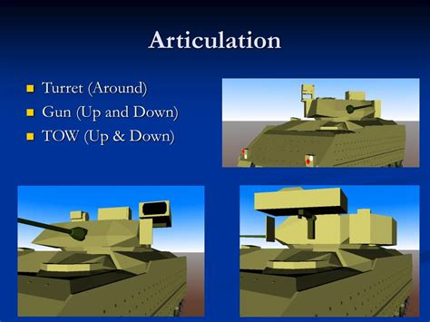 PPT - M2A3 Bradley Fighting Vehicle Model PowerPoint