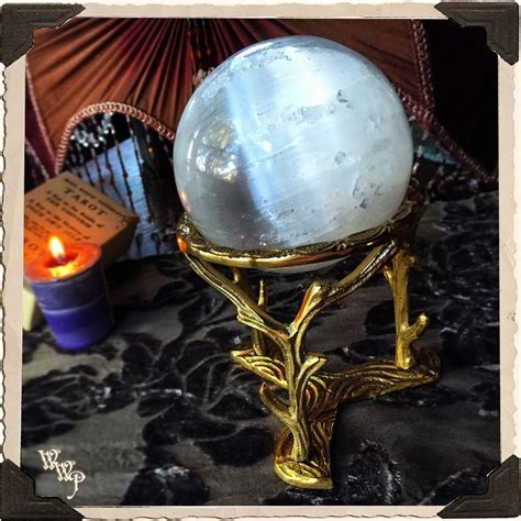 BRASS BRANCHES SPHERE STAND / BASE
