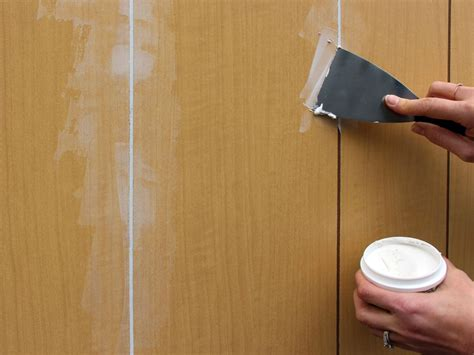 How To: Paint Wood Paneling - Abram's Painting