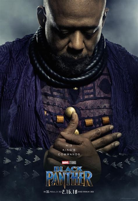 Check out New Character Posters for Marvel's Black Panther