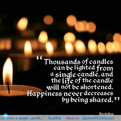 Candle Friendship Quotes