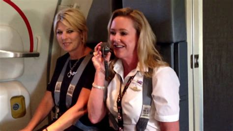 Hilarious SWA Flight Attendant- Come Fly with Me!!!! - YouTube
