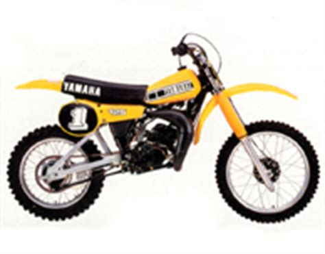 Decals for Classic Yamaha YZ Series