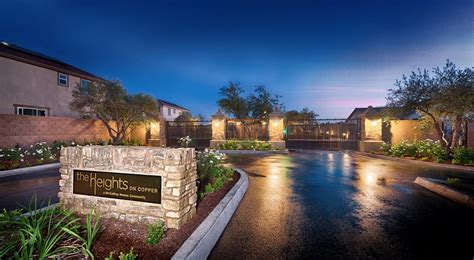 The entrance to McCaffrey Homes' gated community, The
