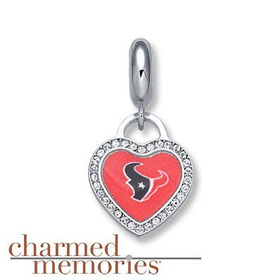 Charmed Memories Houston Texans Sterling Silver Charm