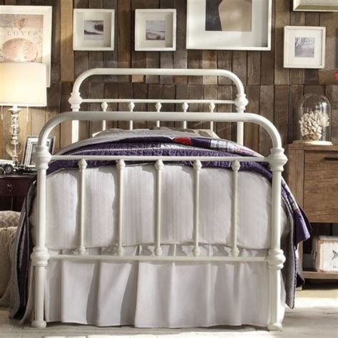 TWIN Antique White Victorian Iron Metal Beds Bed Frame