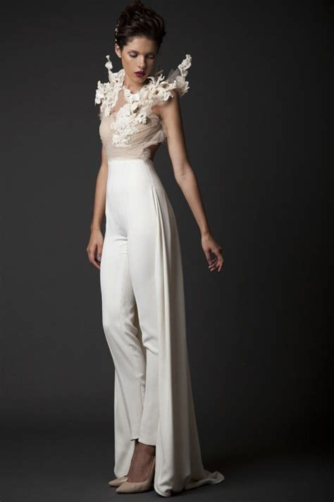 25 Unconventional Bridal Pants & Suits for the Modern