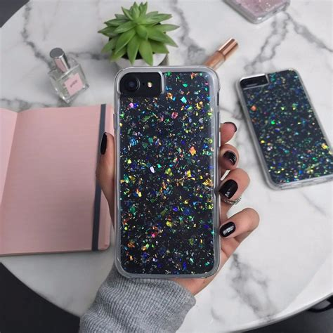 Opal Flakes iPhone Case in 2020   Phone cases, Iphone