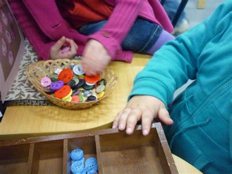 Creative and Inspired Play: Button Sorting