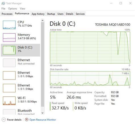 Windows 10 100% Disk Usage every 5 Seconds - Windows 10 Forums