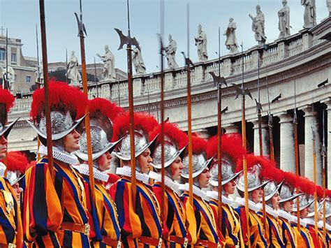 May 6th: The Swiss Guard Recruits Take their Oath of