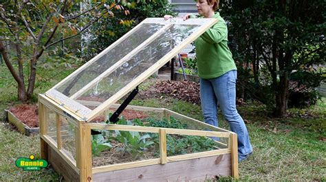 How to Build a Raised Bed Cold Frame - Bonnie Plants