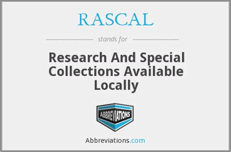 RASCAL - Research And Special Collections Available Locally