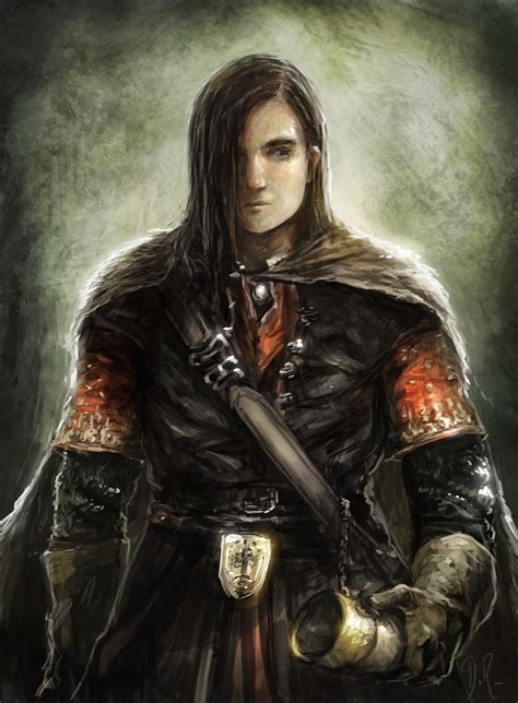 Young knight portrait | OpenGameArt
