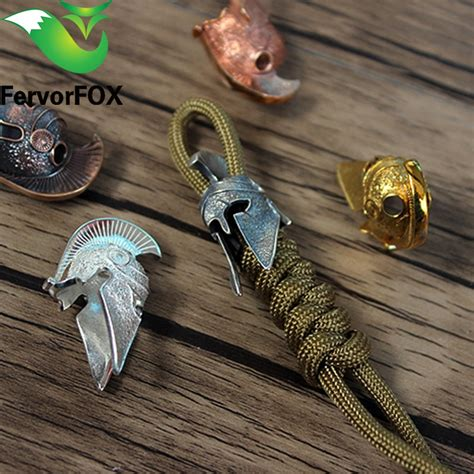 Spartan Paracord Beads Metal Charms For Paracord Bracelet