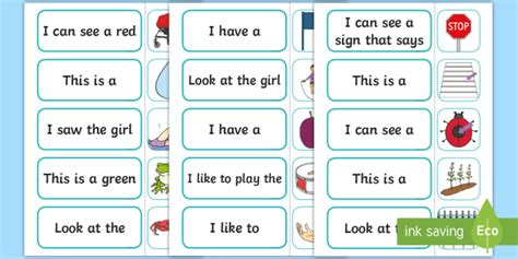 Complete the High Frequency Sentence Using CCVC Words