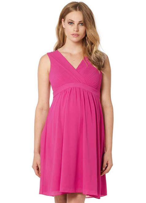 Lola Maternity Cocktail Dress in Pink by Noppies