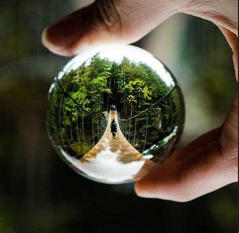 This crystal ball won't let you see the future but it can