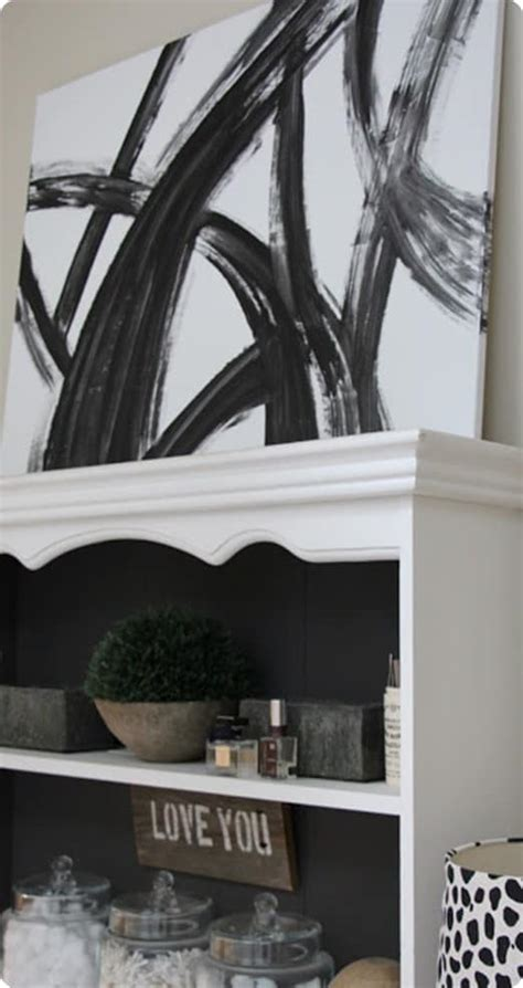 Black and White Abstract Wall Art - KnockOffDecor